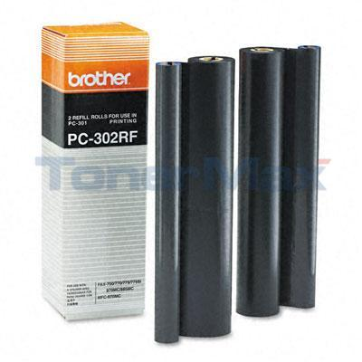 BROTHER PC302RF REFILL ROLLS BLACK